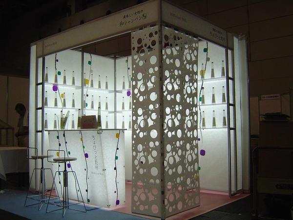 花の舞酒造 展示ブース   花の舞酒造 展示ブース イベントブース [静岡・国際展示場] 店舗デ